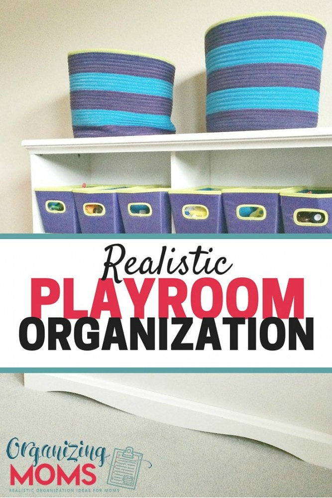 Realistic Playroom Organization Ideas That Are Easy To Implement And  Maintain. Simplify The Organizing Toys