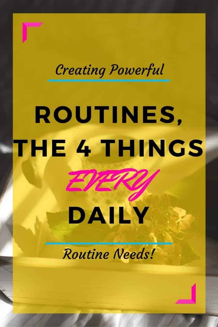 Creating Powerful Routines