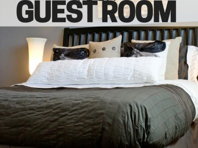 Get your guest room ready for company. Some easy things you can do, and steps to take, to get your home company-ready.