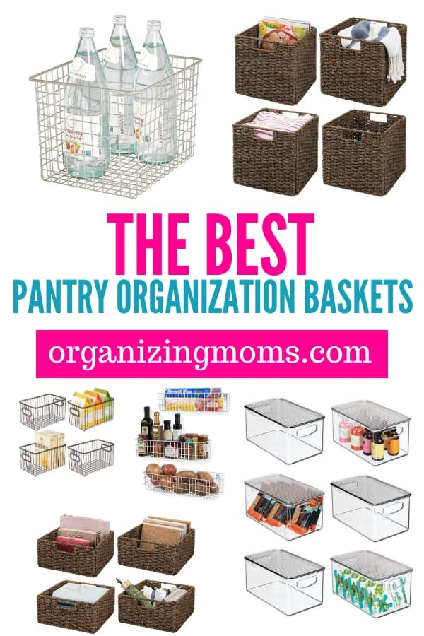 the best pantry organization baskets