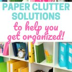Organize your papers with these paper clutter solutions! || organize | paper organization | organizing with binders | declutter and organize | time management | planner | organizing | #paperorganization #organize #declutter