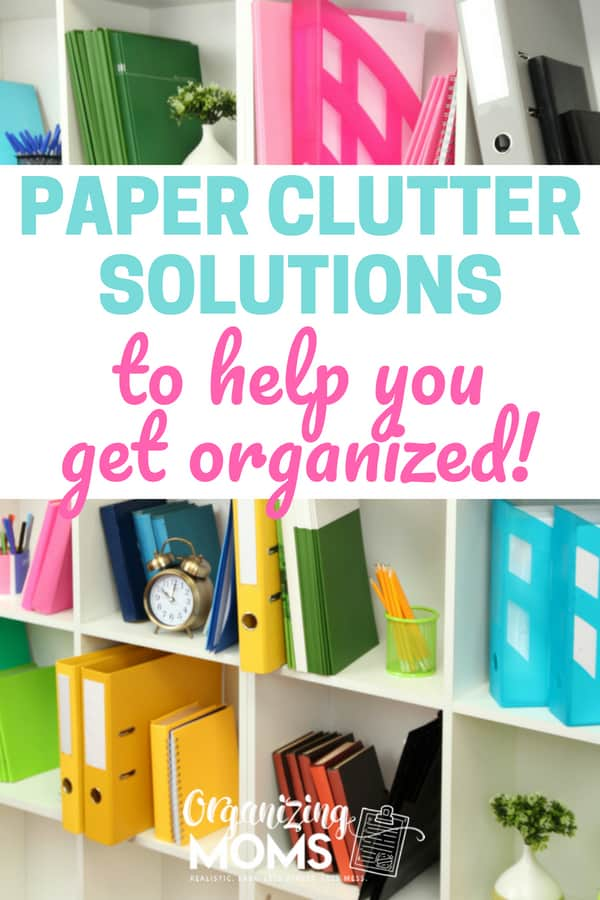 Organize your papers with these paper clutter solutions!    organize   paper organization   organizing with binders   declutter and organize   time management   planner   organizing   #paperorganization #organize #declutter