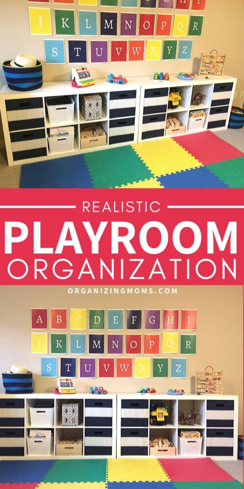 Playroom Organization by Organizing Moms