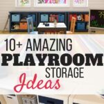 Easy Playroom Storage Ideas That'll Save Your Sanity