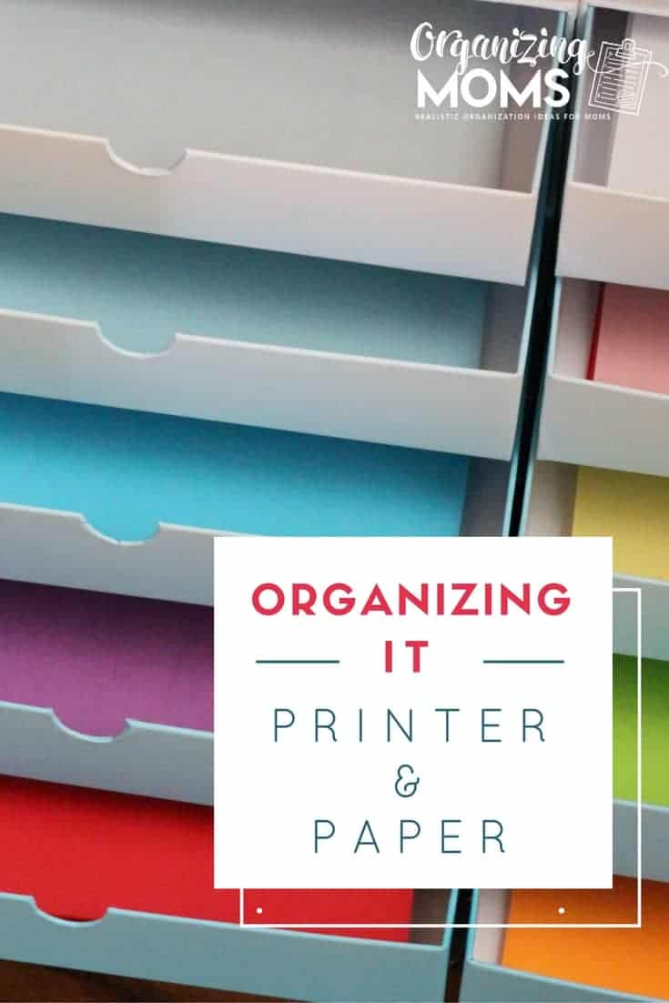 Organizing It: Printer and Paper