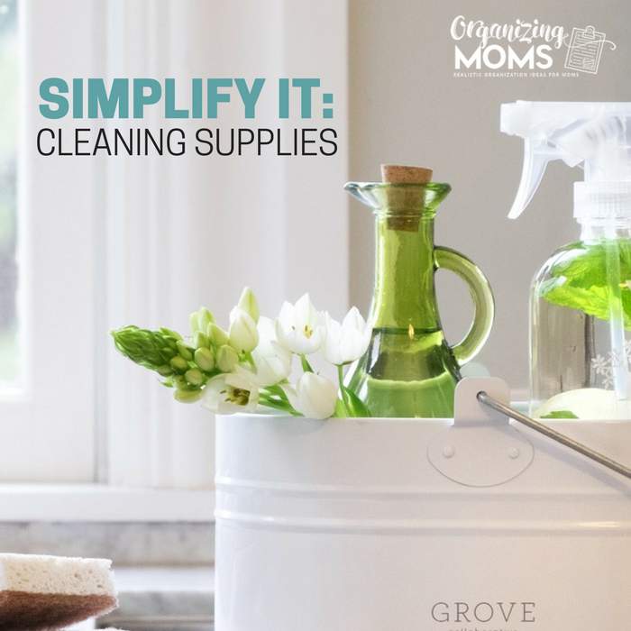 A simplified cleaning routine with non toxic products makes you feel good about the way you clean your home. Realistic solutions for all.