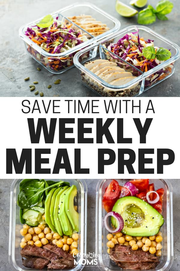 Meal prep for beginners. How to prep your meals for the week when you're cooking for a family. || meal prep | meal planning | meal plan | make ahead meals | weeknight dinners | instant pot | slow cooker | crock pot | pressure cooker | #mealprep #instantpot #mealplan