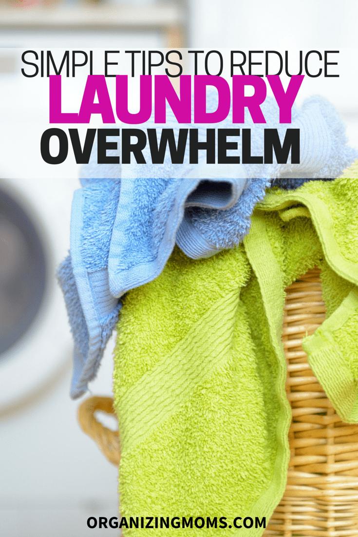 Reduce Laundry Overwhelm