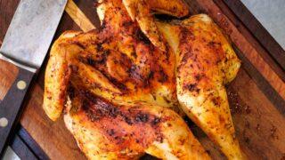 Best Air Fryer Whole Chicken Spatchcock Style Dinner Recipe