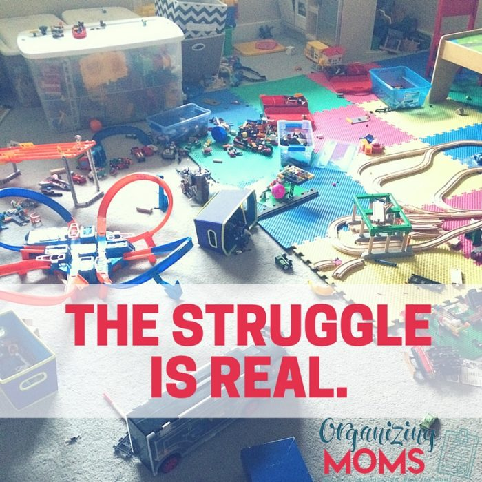 The never-ending battle with clutter.