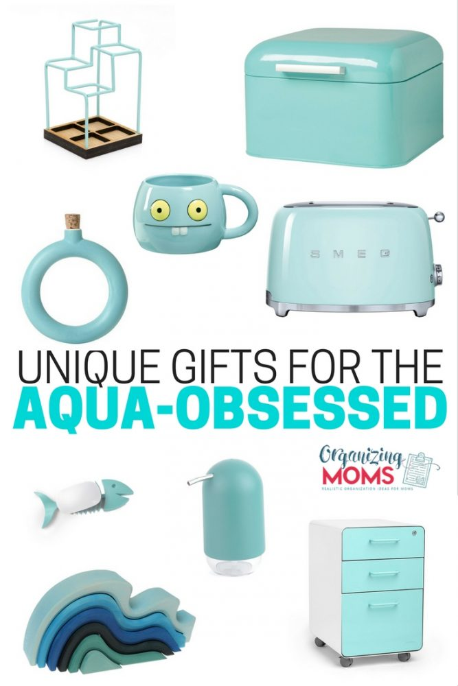 For the love of aqua. Unique gifts for the aqua obsessed.