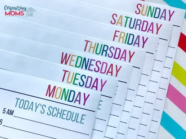 The Daily Planning Sheets Collection gives you the flexibility to build your planner according to your own needs.