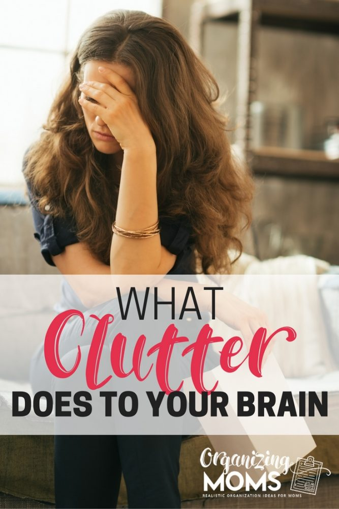 Feeling distracted? Find out how clutter could be impacting your brain.