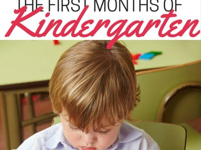 What every parent needs to know about the first months of kindergarten