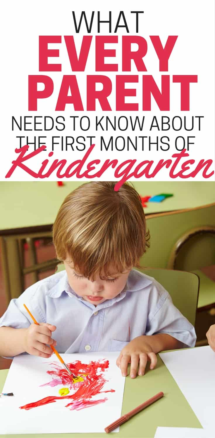 What to Expect After the First Days of Kindergarten