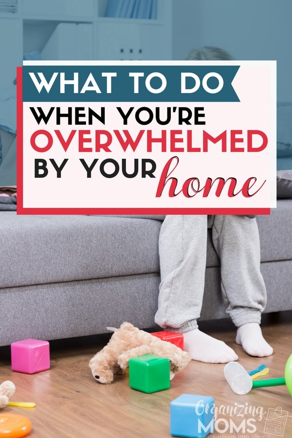 What to do when you are overwhelmed by a messy house. || declutter | overwhelmed mom | overwhelmed by clutter | overwhelmed by life | time management for moms | Facebook break | decluttering ideas | declutter and organize #declutter #organize #overwhelmed #stressrelief #clutter