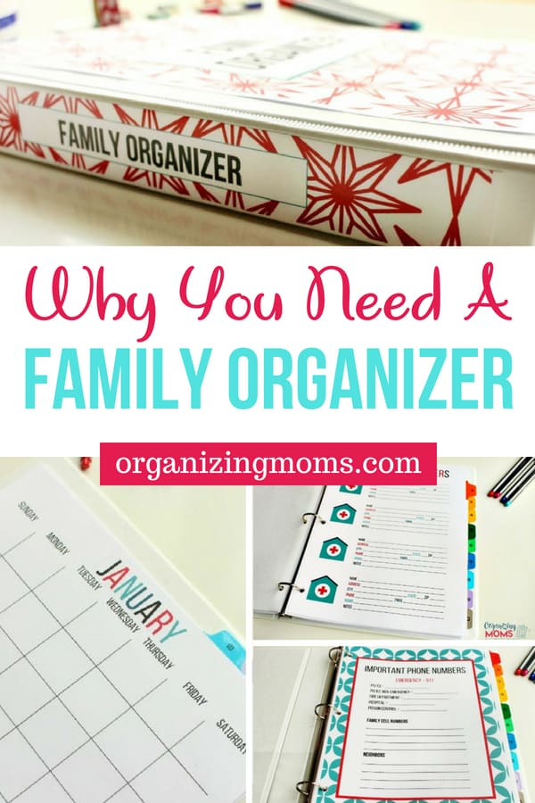 How to organize important family paperwork. || family organizer | organizing with binders | paper organization | important documents | organization | organizing | paper management | gtd | binders for organization