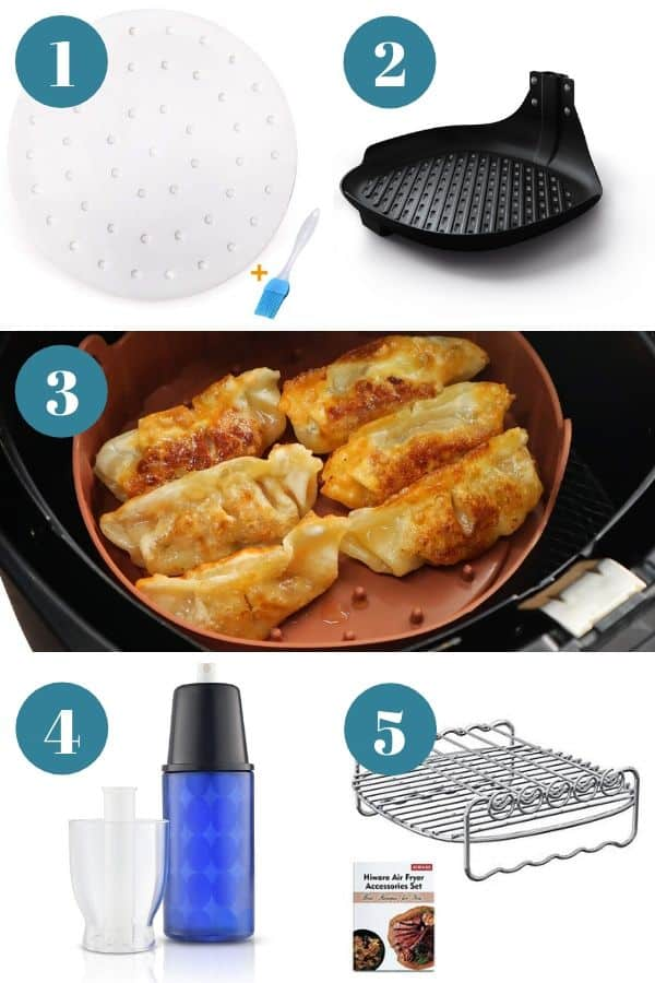 Air fryer accessories 1-5 in must-have air fryer accessories article.