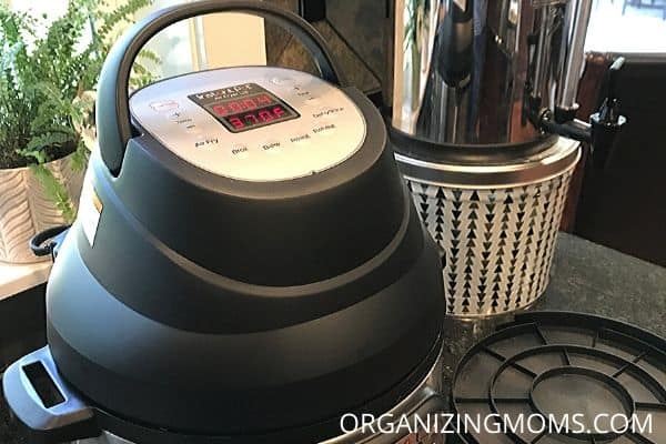 air fryer instant pot lid
