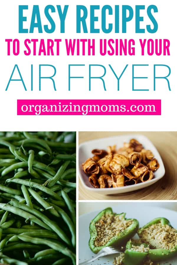 Quick and easy recipes you can try when you get your new air fryer. Healthy, delicious air fryer recipes for the air fryer beginner.