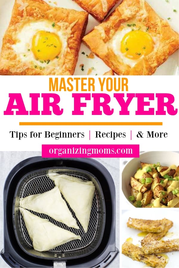 Air fryer tips. How to make the most of your new air fryer. How to use an air fryer, recipes, and more!