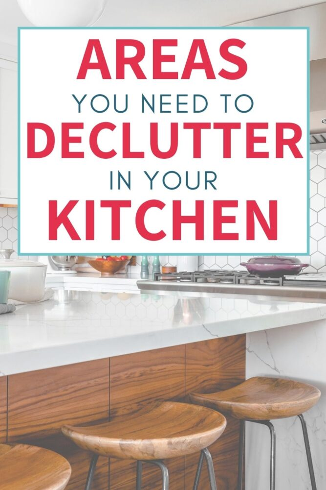 areas you need to declutter in your kitchen