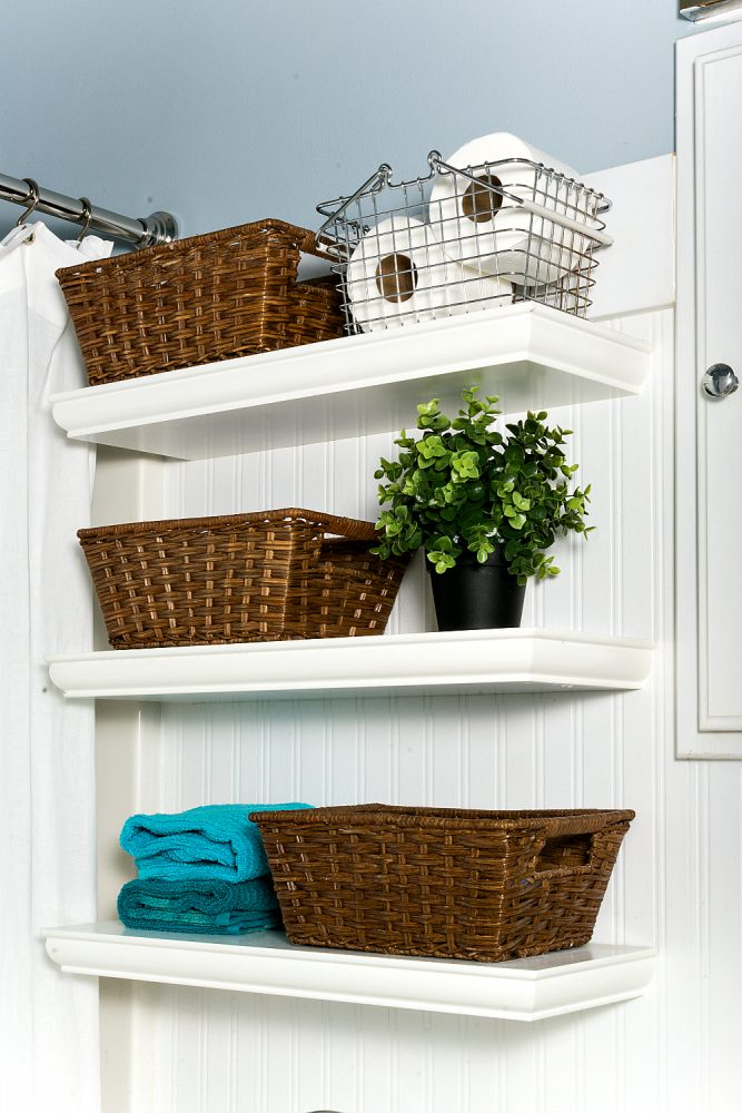 Brilliant bathroom organization organizing moms Storage solutions for tiny bathrooms