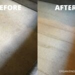 carpets before and after cleaning