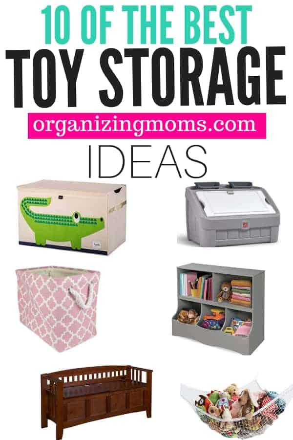 The best toy storage solutions you can get on Amazon. Kids toy storage ideas you can use right away.
