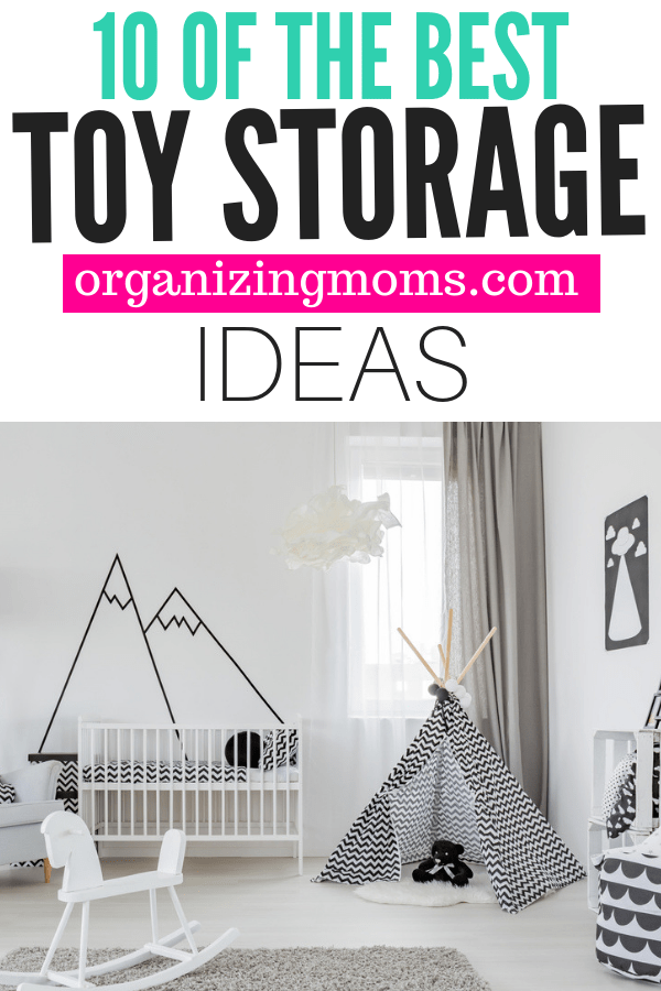 The smartest toy storage solutions you can find on Amazon. Kids toy storage ideas you can use right now.