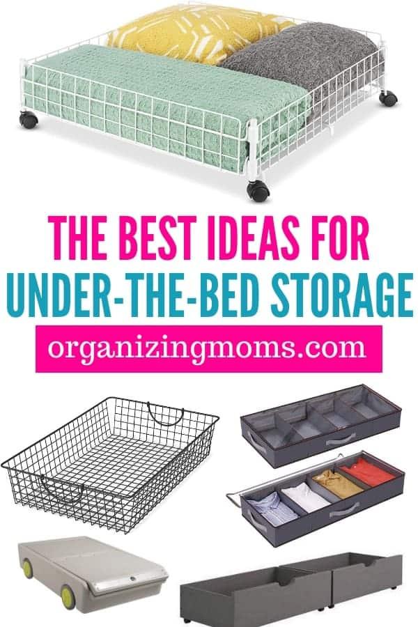 best under the bed storage