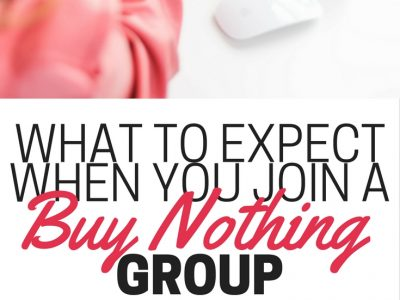 Have you ever wondered what a Buy Nothing group does? Find out how to declutter, save money, and make friends with a Buy Nothing group.