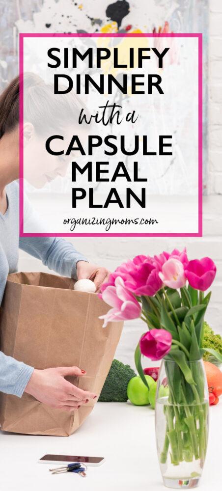 capsule meal plan