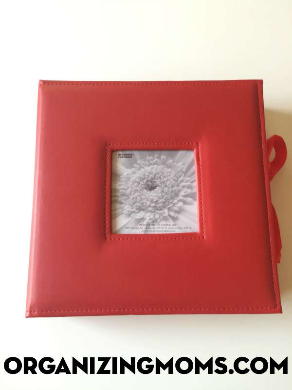 Organize photos from Christmas in a cute Christmas-specific photo album.