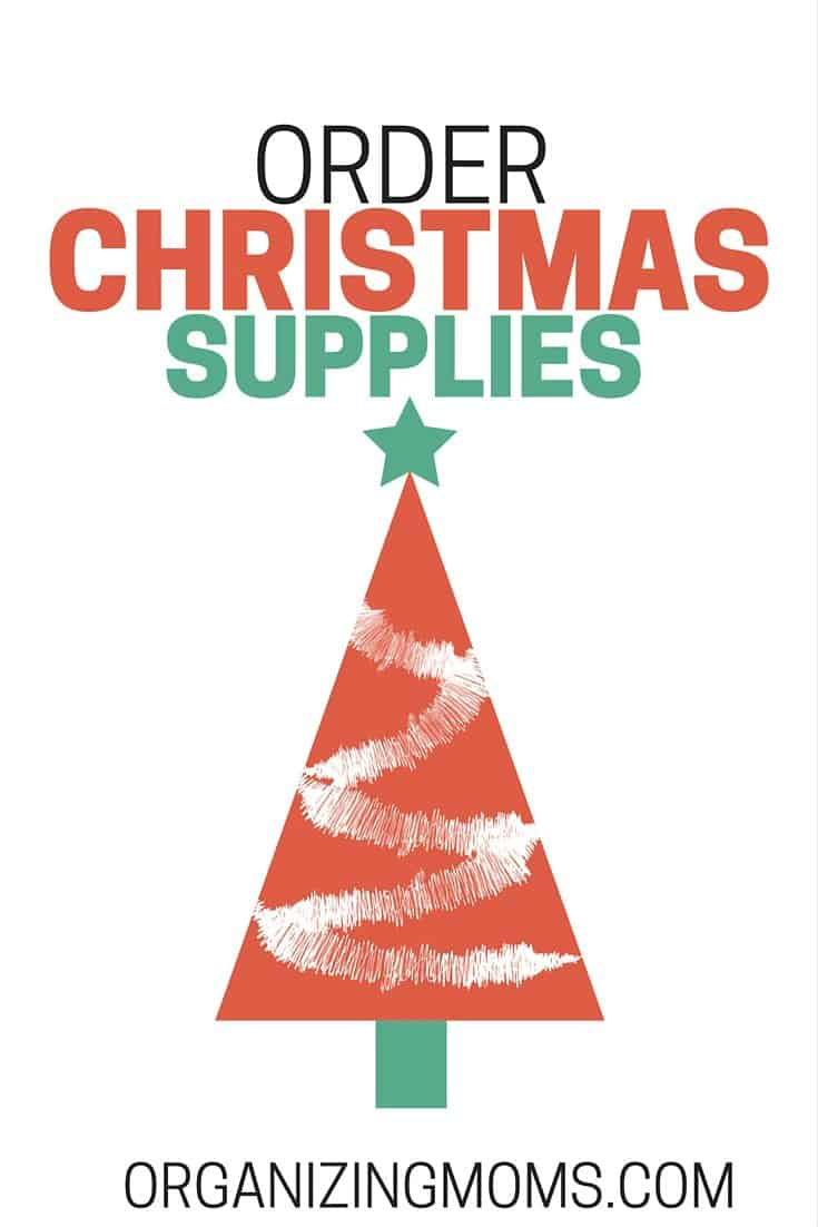 Now's the time to get stocked up for the holidays! Order Christmas supplies now so you're prepared.