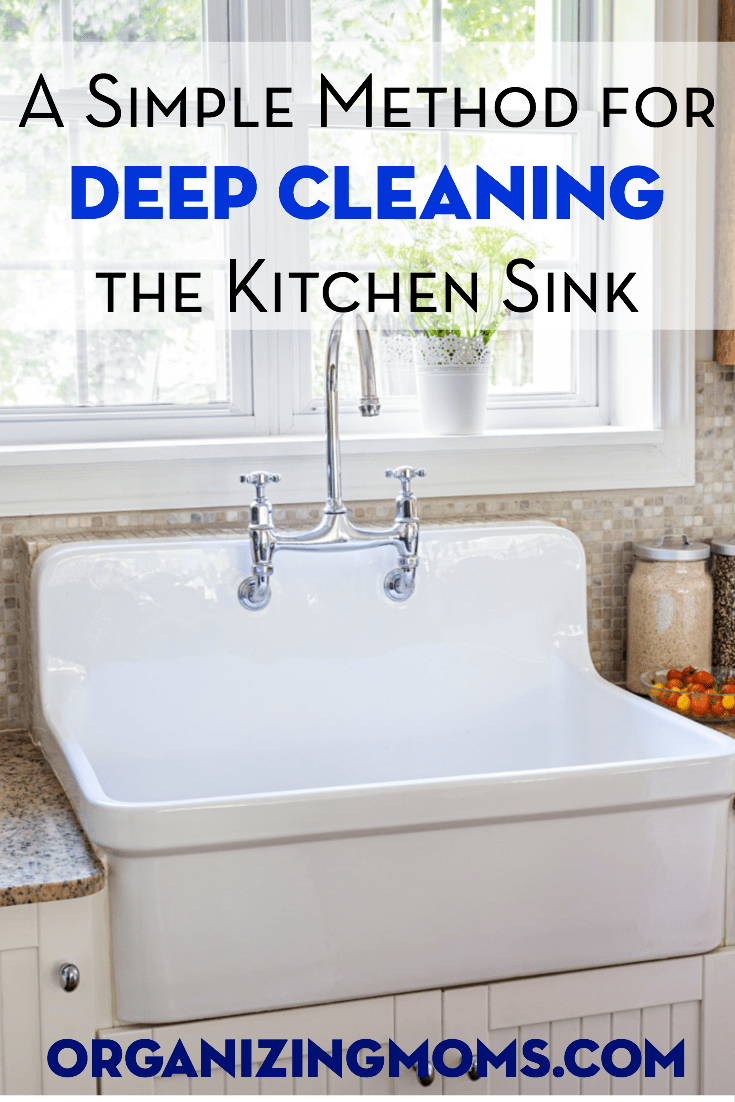 Deep Clean Your Kitchen Sink