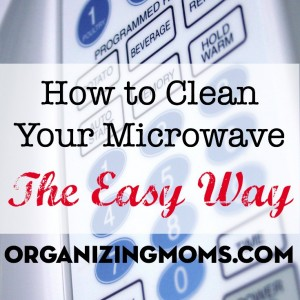 An easy, simple way to clean your microwave. Tried and true technique, found on Pinterest! :-)