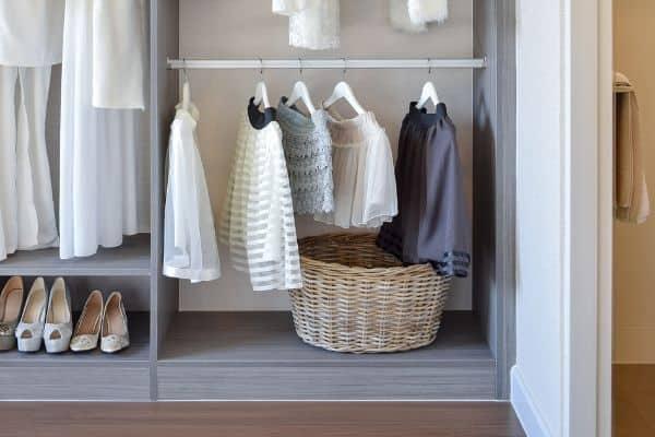 closet baskets