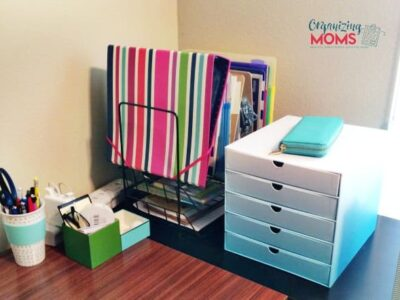 Command central. Helps keep all of your papers, appointments, commitments and thoughts organized.