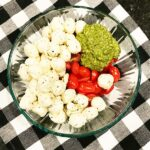 costco caprese with pesto