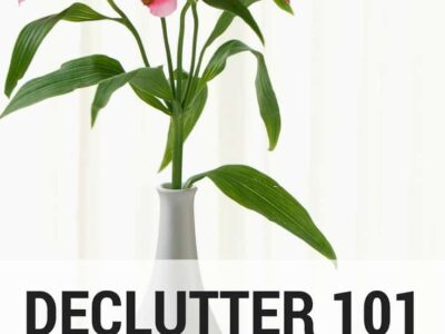 How to start decluttering when you have no idea where to begin. Tons of realistic decluttering tips to help you banish clutter from your home.