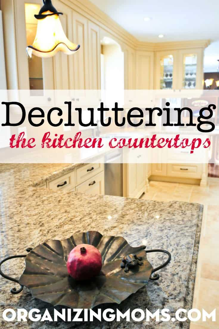 Decluttering Countertops Archives Organizing Moms
