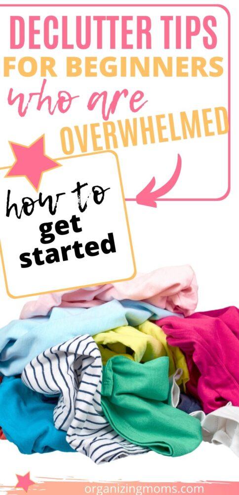 declutter tips for beginners clothes clutter