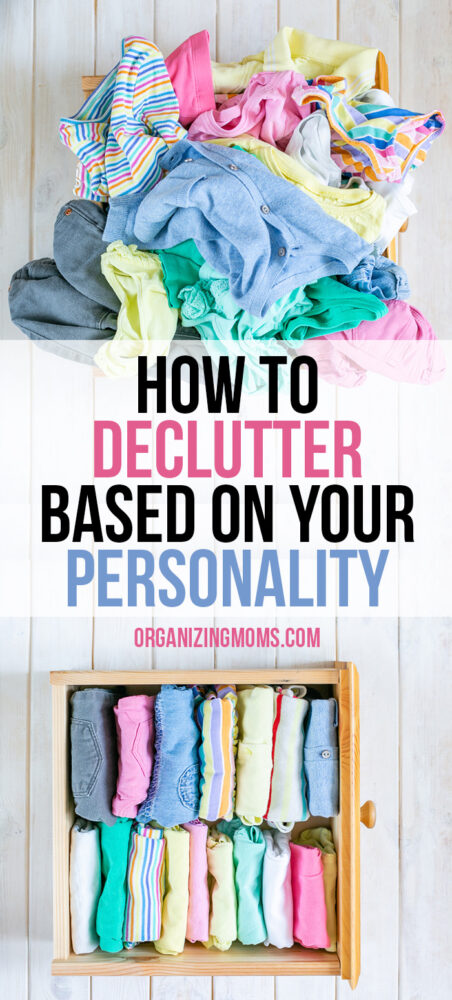 decluttering based on your personality