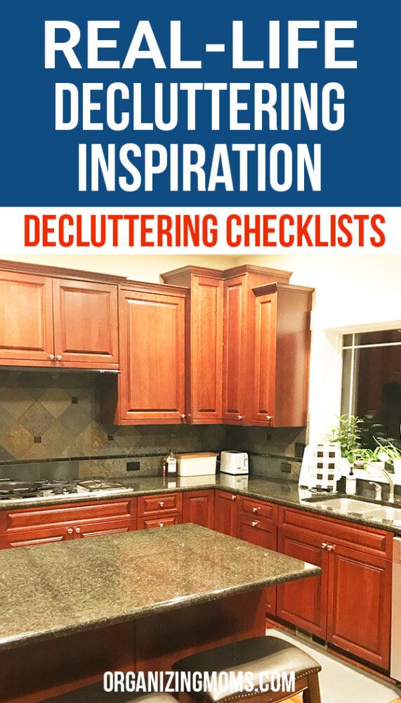 decluttering inspiration organizing moms