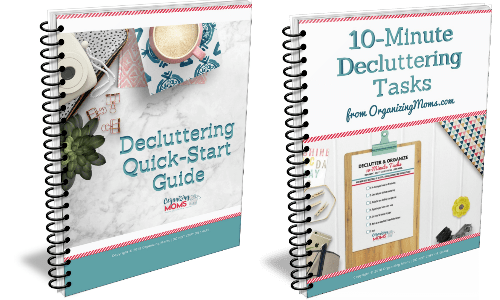Jump start your organization with this Decluttering Quick Start Guide. Declutter your home with these easy tips, tricks, and checklists.