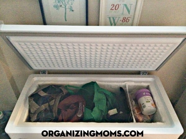 Stop digging around in your cold freezer to find the things you need to make dinner. This post shows you how to organize your deep freeze using reusable bags. Make everything easy to find, and save yourself time and money.