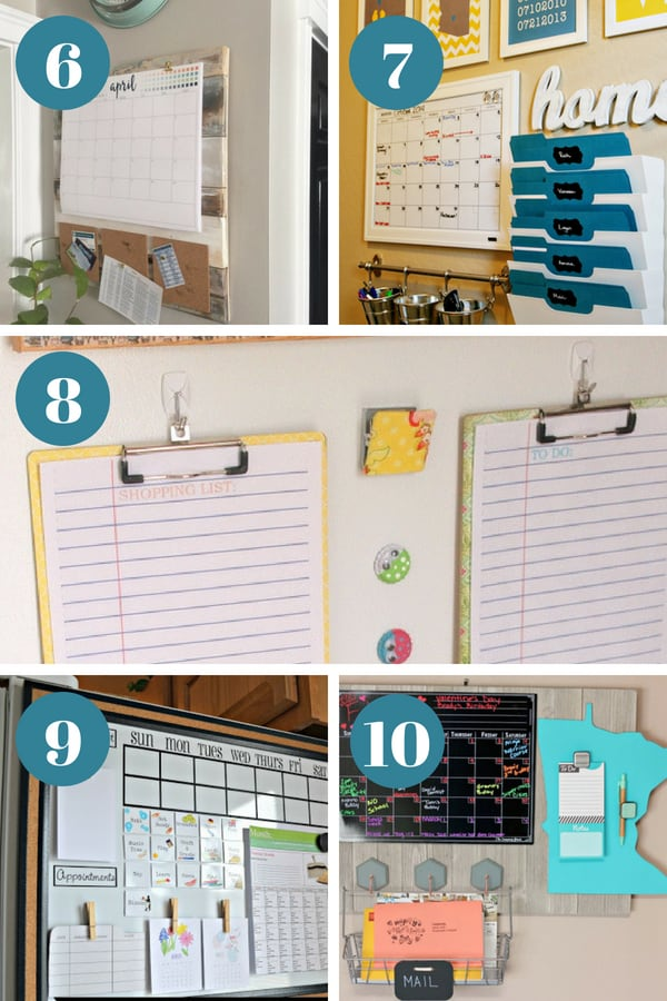 Command center ideas for the home that will get your family organized. || command center organization | kitchen command center | family command center | DIY command center | command center signs | paper organization | time management | routines | organization ideas for the home | organizing hacks #organize #commandcenter #paperorganization