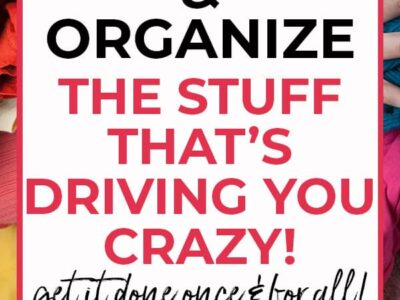 driving you crazy declutter