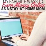 Looking for ways to earn extra money from home? I've tried a lot of different income-earning methods, and these are my favorites!